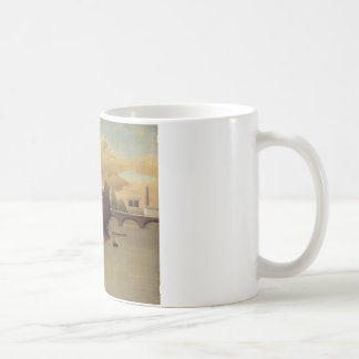 View of the Outskirts of Paris by Henri Rousseau Coffee Mug