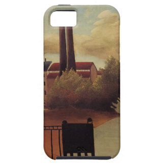 View of the Outskirts of Paris by Henri Rousseau iPhone SE/5/5s Case