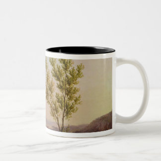 View of the Outskirts of Rome Two-Tone Coffee Mug