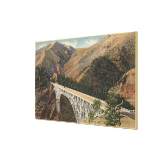 View of the Pacific Hwy Bridge over Shasta Gallery Wrapped Canvas