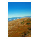 View of the Pacific Ocean from Table Bluff Custom Stationery