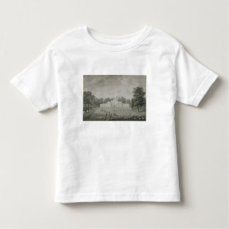 View of the Palace at Kew from the Lawn, engraved T Shirt
