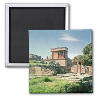 View of the Palace of Knossos Magnet