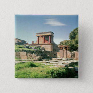 View of the Palace of Knossos Pinback Button