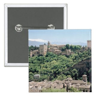 View of the Palace of the Alhambra Pinback Button
