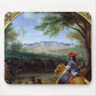 View of the Palace of Versailles in 1669 Mouse Pad