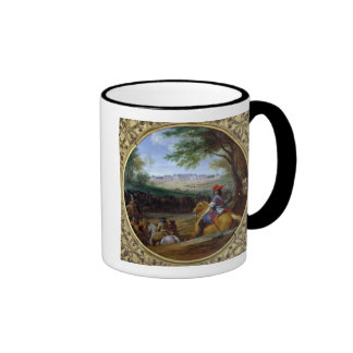 View of the Palace of Versailles in 1669 Ringer Mug