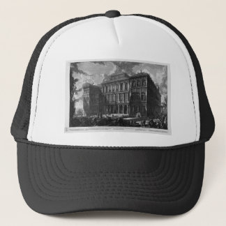 View of the Palace Stopani by Giovanni Battista Trucker Hat