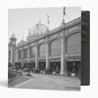 View of the Palais des Beaux-arts 3 Ring Binders