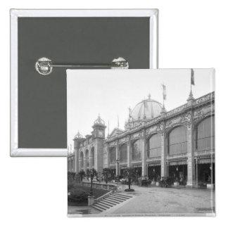 View of the Palais des Beaux-arts 2 Inch Square Button