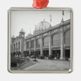 View of the Palais des Beaux-arts Metal Ornament