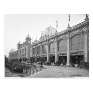 View of the Palais des Beaux-arts Postcard