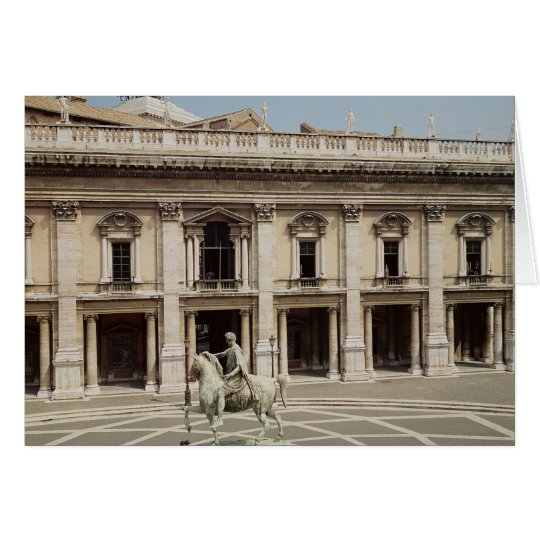 View of the Palazzo Nuovo Card