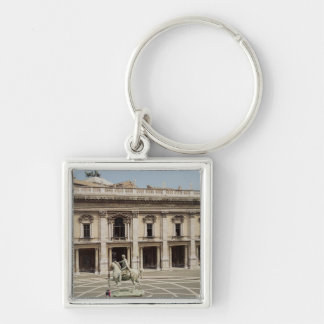 View of the Palazzo Nuovo Keychains