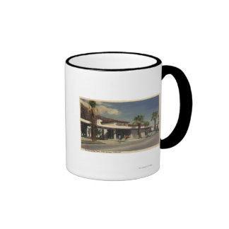 View of the Palm Springs Hotel Mugs