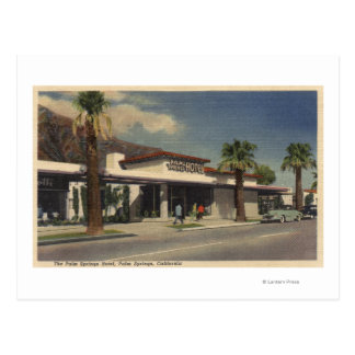 View of the Palm Springs Hotel Postcards