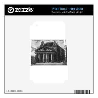 View of the Pantheon of Agrippa by Giovanni iPod Touch 4G Decal