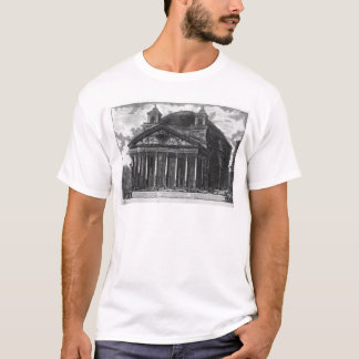 View of the Pantheon of Agrippa by Giovanni T-Shirt
