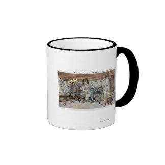 View of the Parade Lawns Mugs