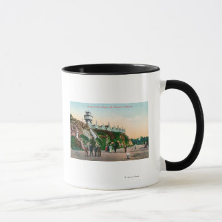 View of the Parapet at Sutro Heights # 2 Mug