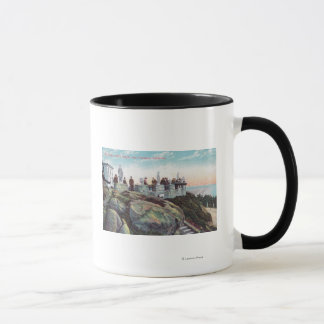 View of the Parapet at Sutro Heights Mug