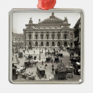 View of the Paris Opera House, 1890-99 Christmas Ornament
