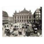 View of the Paris Opera House, 1890-99 Postcard