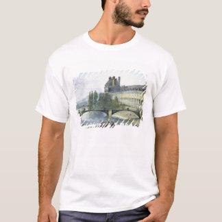 View of the Pavillon de Flore of the Louvre T-Shirt