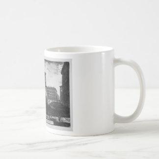 View of the pedestal of the Apotheosis of Antoninu Classic White Coffee Mug