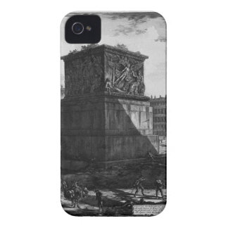 View of the pedestal of the Apotheosis of Antoninu iPhone 4 Cover