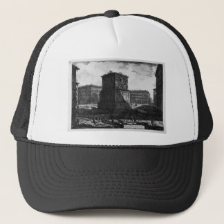 View of the pedestal of the Apotheosis of Antoninu Trucker Hat