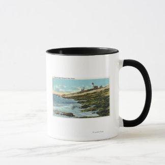 View of the Pemaquid Lighthouse Mug
