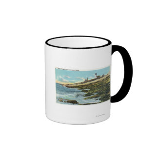 View of the Pemaquid Lighthouse Mug