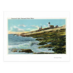 View of the Pemaquid Lighthouse Postcard