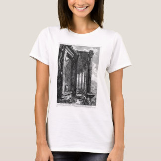 View of the Peristyle and the Door of the Temple o T-Shirt