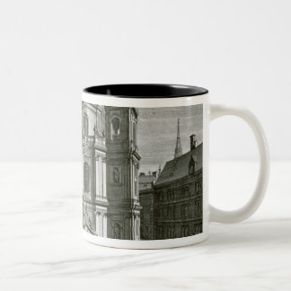 View of the Peterskirche Two-Tone Coffee Mug