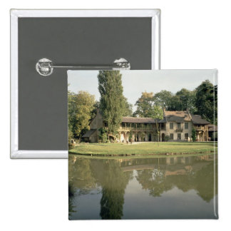View of the Petit Hameau, 1782-85 (photo) 2 Inch Square Button