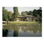 View of the Petit Hameau, 1782-85 (photo) Postcard