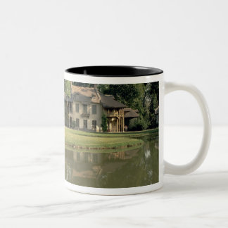 View of the Petit Hameau, 1782-85 (photo) Two-Tone Coffee Mug