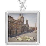 View of the piazza custom jewelry