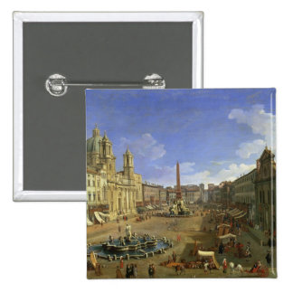 View of the Piazza Navona, Rome Pins