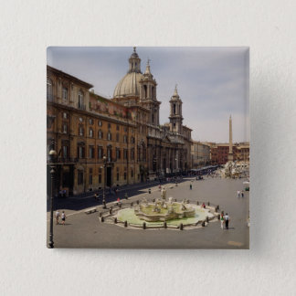 View of the piazza pinback button