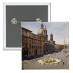 View of the piazza pins