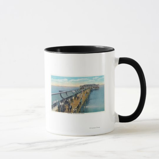 View of the Pier Mug