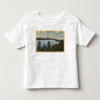 View of the Pine Clad Shores of Lake Tee Shirt