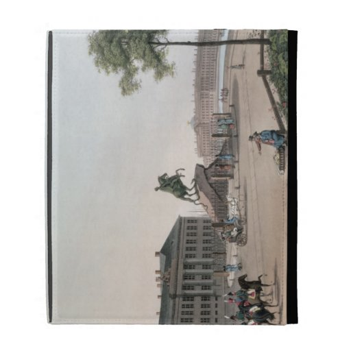 View of the Place of Peter the Great and the Senat iPad Folio Covers