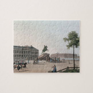 View of the Place of Peter the Great and the Senat Jigsaw Puzzle