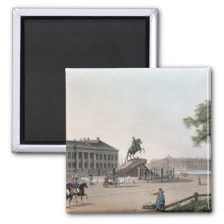 View of the Place of Peter the Great and the Senat Magnet