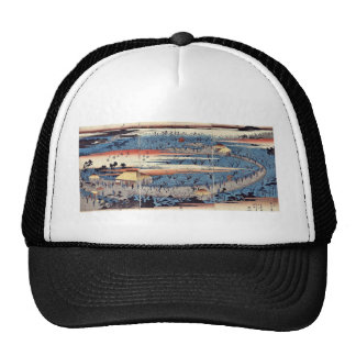 View of the Plum Estate, Kameido by Ando,Hiroshige Trucker Hat