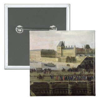 View of the Pont-Neuf and the River Seine Button